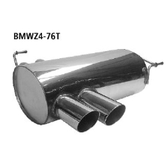 Escape deportivo final doble 2x76 mm BMW Z4 E85 Roadster ( 2002-2006) Bastuck