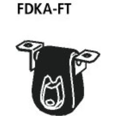 Goma de suspension escape deportivo final incluido fixing bolts Mazda 121 Bastuck