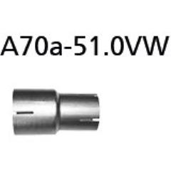 Tubo adaptador catalizador/ Supresor de Catalizador de serie Hyundai i20 GB incluido Sport Bastuck