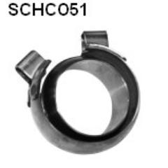 Kit abrazadera especial con anillo cono 51 mm Jaguar XKR Bastuck