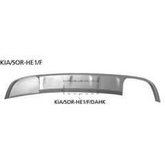 Faldon golpes con recorte juego tubos de escape RH, con tapa de enganche remolque y soporte de la caja de enchufe Kia Sorentoa Facelift UM 2017- Bastuck