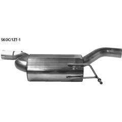 Escape deportivo delantero Skoda Octavia II 1Z Turbo incluido RS Bastuck