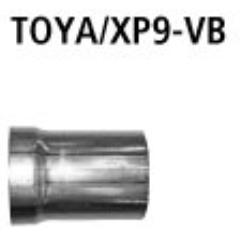 Tubo de conexion al catalizador Toyota Yaris II Typ XP9 (2006-) incluido TS Bastuck