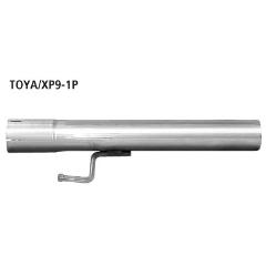 Supresor de Silenciador delantero Toyota Yaris II Typ XP9 (2006-) incluido TS Bastuck
