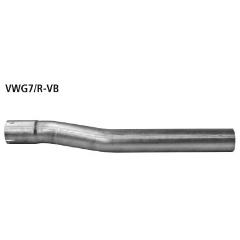 Tubo de conexion catalizador deportivo / Supresor al serie o al sistema completo Audi S3 8V Bastuck