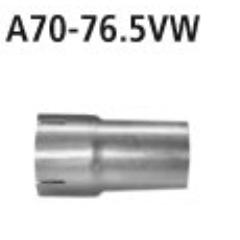 Tubo adaptador catalizador deportivo/supresor catalizador al sistema deportivo 63.0mm Hyundai Veloster 1.6l Turbo (Euro 6) Bastuck