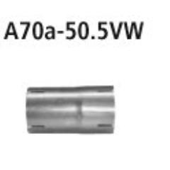 Adaptador Catalizador / Supresor Catalizador a escape de serie en 50.5 mm Kia Rio YB 1.0 t-gdi 2017- incluido GT-Line 06/2018- Bastuck