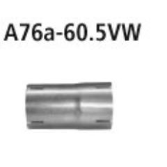 Tubo adaptador catalizador deportivo/supresor catalizador al sistema de serie a 60.5 mm Seat Ibiza 6F (KJ) Typ FR (2017-) Bastuck