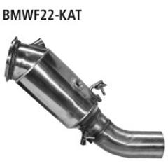 Catalizador deportivo BMW Serie 1 F20 2.0l Turbo (incluido M135i / M140i) Bastuck