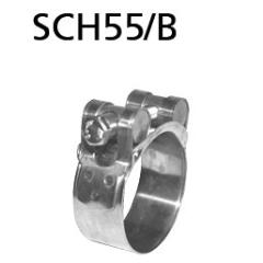 Kit abrazadera de escape 55-58 mm acero inoxidable Skoda Fabia II RS Typ 5J Bastuck