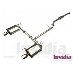 Escape Cat back Q300tl Honda Accord 03/07 2.4L 4dr CL/CM Invidia Homologacion CE