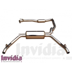 Escape Cat back Q300tl Honda civic 06/- 3dr FN2 Type R Invidia Homologacion CE