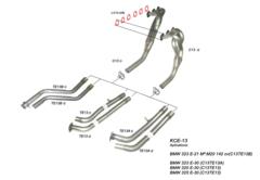 Kit Colectores de Escape para BMW 320 E-30 89-91