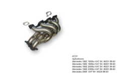 Kit Colectores de Escape para MERCEDES BENZ 190E 1.9 8V 88-93