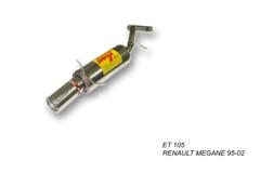 Escape trasero final para RENAULT MEGANE HDI 95-