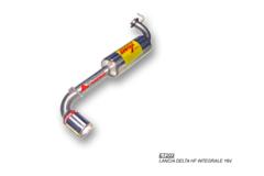 Escape trasero para LANCIA DELTA HF INTEGRALE 16V 205CV 91-94
