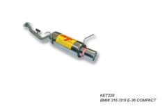 Escape trasero para BMW 316I E-36 COMPACT 1.6I 8V 102CV 94-98
