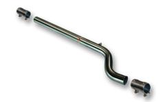 Supresor escape intermedio para Renault Clio III Sport 2.0 16v