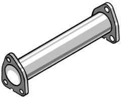 Supresor de catalizador para ROVER 420 DIESEL 86CV 95-