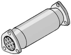 Supresor de catalizador para DAEWOO NUBIRA 1.6I 16V 105CV 04/97-