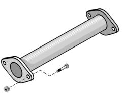 Supresor de catalizador para NISSAN 200 SX 95-