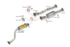 Supresor de catalizador para TOYOTA CELICA 1.8I 16V VVT-I 143CV