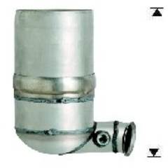 Recambio de Filtro Particulas Diesel DFP FPD PEUGEOT 407 1.6TD HDI   136CV Magnaflow
