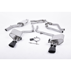 Escape deportivo Cat-back Milltek Audi S4 3.0 Supercharged V6 B8 2009-2012
