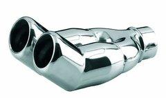 Cola escape deportiva universal en acero inoxidable Isotta TP5