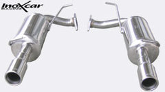 Escape Deportivo 1X80 der+izq MAZDA MAZDA 6 2.3 TURBO 16V (260CV) 2005- Inoxcar