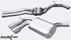 Escape Deportivo Central + Escape 2X90 RACING der+izq AUDI A3 (Type 8P) RS3 2.5 TFSI Quattro (340CV) 2011- Homologado Inoxcar