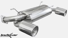 Escape Deportivo 1X120 MEGA der+izq SUBARU BRZ 2.0 (200CV) 2012- Inoxcar
