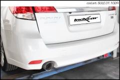 Escape Deportivo 1X102 RACING SUBARU LEGACY SW 2.0 D (150CV) 2009- Inoxcar