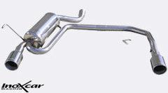 Escape Deportivo Doble Doble Duplex 1X102 PEUGEOT 406 2.0 TURBO / 2.2 16V / 3.0 V6 - Inoxcar