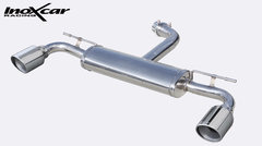 Escape Deportivo 1X100 X-RACE der+izq VOLKSWAGEN GOLF 7 GTI 2.0 (230CV) 2013- Inoxcar