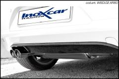 Escape Deportivo 2X80 X-RACE VOLKSWAGEN SCIROCCO 1.4 TSI (155CV) 2008-D 55 - Homologado Inoxcar