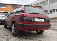 Escape final Audi 80 type B4 Quattro 2x76 Tipo 10 Fox