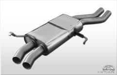 Escape frontal primer tramo Audi V8 Type D11 single system Fox
