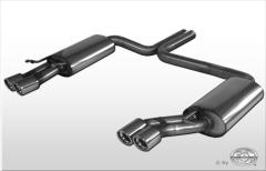 Escape final Audi A8/ S8 D2/D8 4,2l 2x76 Tipo 17 doble duplex derecho / izquierdo Fox