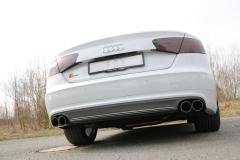 Escape final Audi A8/ S8 4H S8 - 4,0l 2x90 Tipo 25 doble duplex derecho / izquierdo Fox