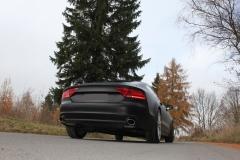 Escape final Audi A7 3,0l TFSI 3,0l TFSI final silencer doble duplex derecho / izquierdo 115x85 Tipo 38 doble duplex derecho / izquierdo Fox