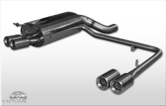 Escape final BMW Serie 7 E65 735i/ 745i 2x80 Tipo 13 doble duplex derecho / izquierdo Fox