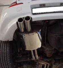 Escape final BMW Z3/ Z3 Coupe 3,0l 2x80 Tipo 17 Fox