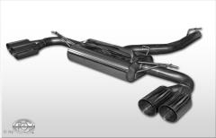 Escape final BMW X3 F25 2,0l D + 3,0l D 190kW 2,0l diesel final silencer cross exit doble duplex derecho / izquierdo 2x90 Tipo 14 doble duplex derecho / izquierdo Fox