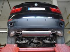Escape final BMW X5 E70 (2007-2012) Diesel 1x93x79 Tipo 71 doble duplex derecho / izquierdo Fox