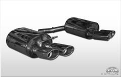 Escape final BMW Serie 6 E63/ 64 2x115x85 Tipo 32 doble duplex derecho / izquierdo Fox