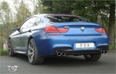 Escape final BMW Serie 6 F12/ F13/ F06 640i with m package final silencer doble duplex derecho / izquierdo Fox