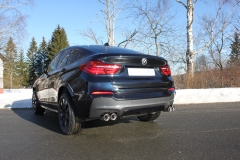 Escape final BMW X4 35i 35i Final silencer exit left/right 2x90 Tipo 17 righ/left Fox