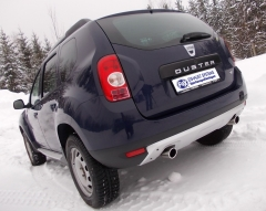 Escape final Dacia Duster 4x4 1x80 Tipo 16 doble duplex derecho / izquierdo Fox