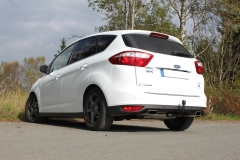 Escape final Ford C-Max C-Max II (from 2010) Max II final silencer exit doble duplex derecho / izquierdo 146x65 Typ 59 doble duplex derecho / izquierdo Fox